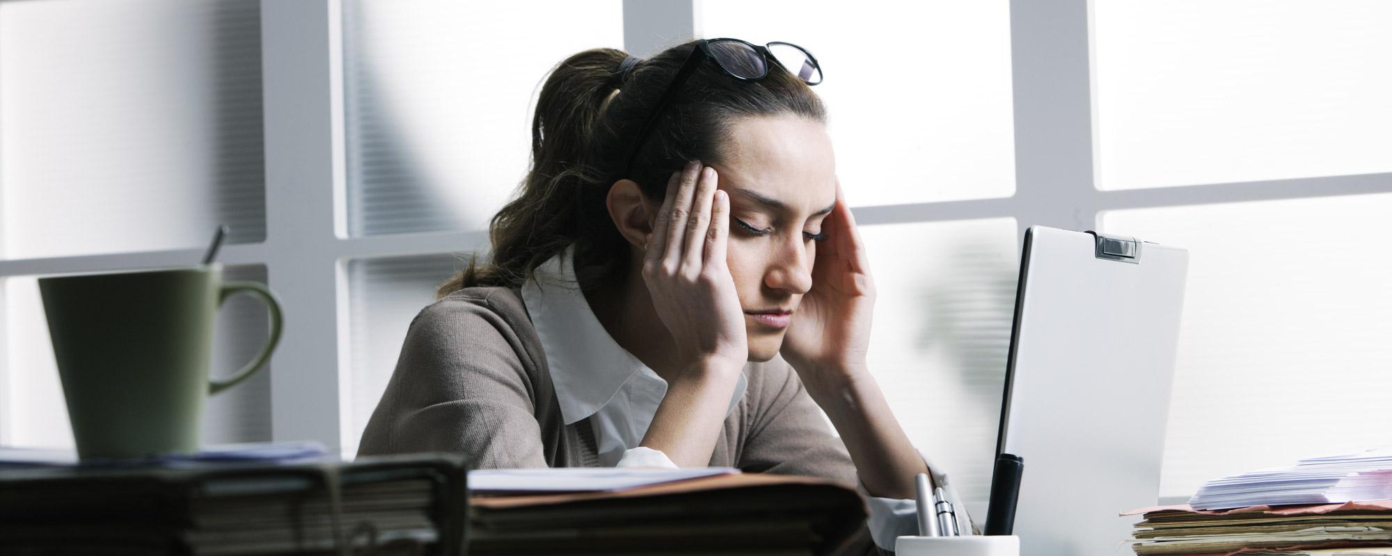 Concentration, stress, souffrance au travail
